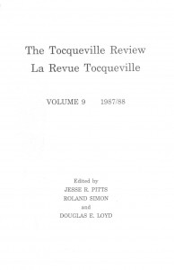 Tocqueville Review